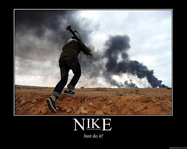 nike just do it - Motivational Poster