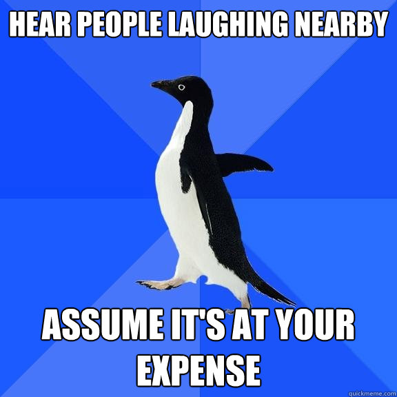 Laughing at your expense 