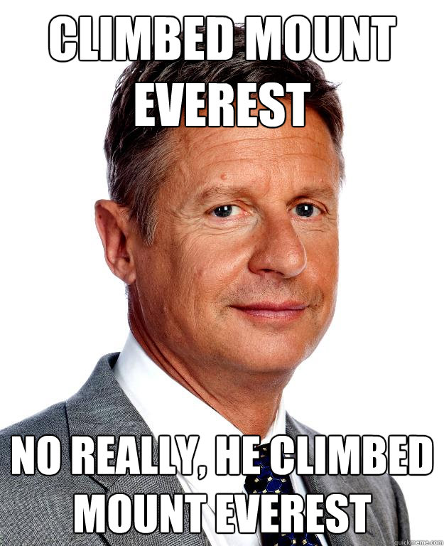 gary johnson everest