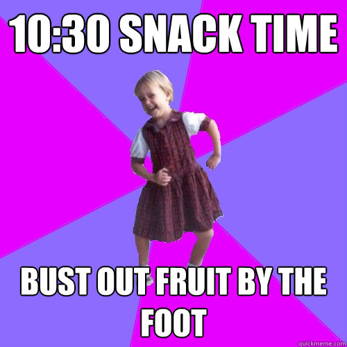 1030 snack time bust out fruit by the foot - Socially awesome kindergartener