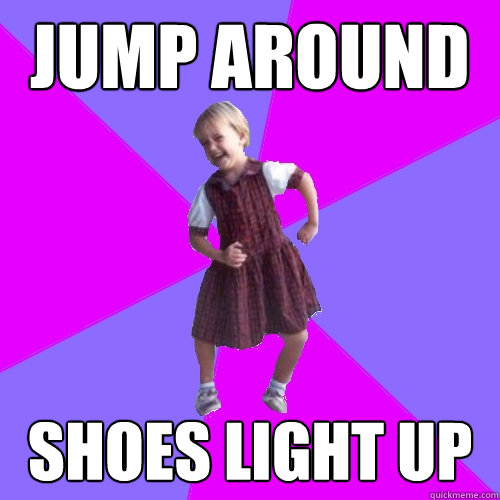jump around shoes light up - Socially awesome kindergartener