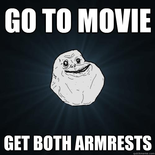 all of the armrests meme
