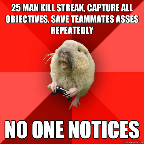 25 man kill streak capture all objectives save teammates a - Gaming Gopher