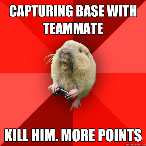 capturing base with teammate kill him more points - Gaming Gopher