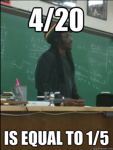 420 is equal to 15 - Rasta Science Teacher