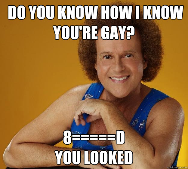 How To Know Your Gay Test