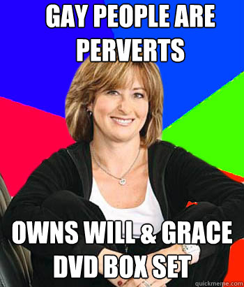gay people are perverts owns will grace dvd box set - Sheltering Suburban Mom