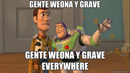 gente weona y grave gente weona y grave everywhere - Everywhere