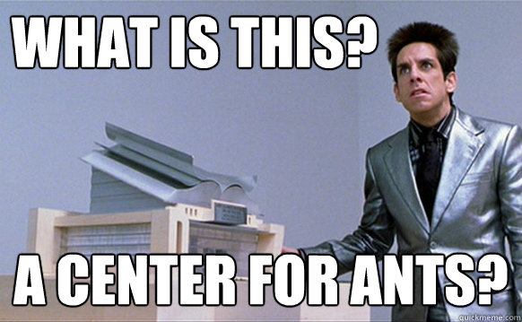 what is this a center for ants - Zoolander Ants