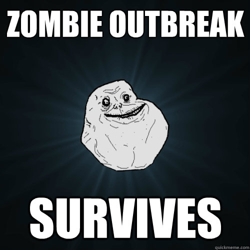 zombie outbreak survives  - Forever Alone