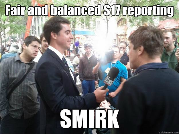 fair and balanced s17 reporting smirk - S17 Smirk