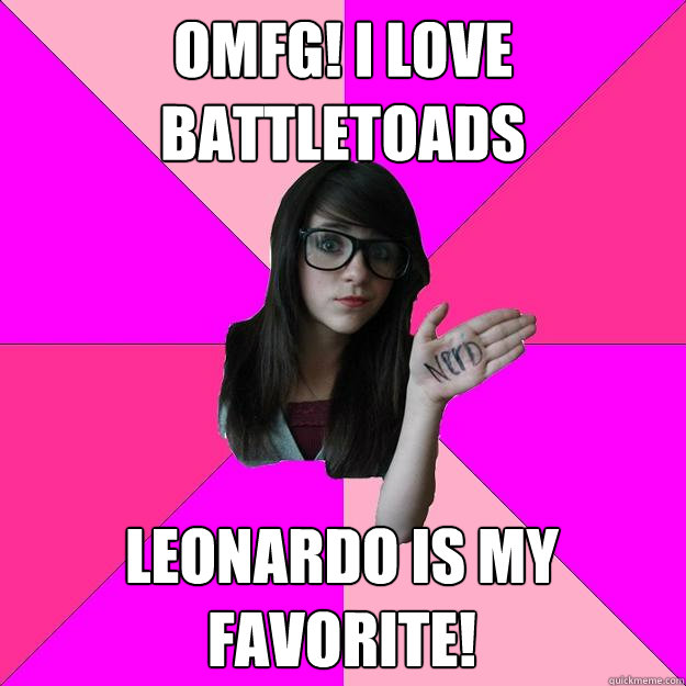 omfg i love battletoads leonardo is my favorite - Idiot Nerd Girl