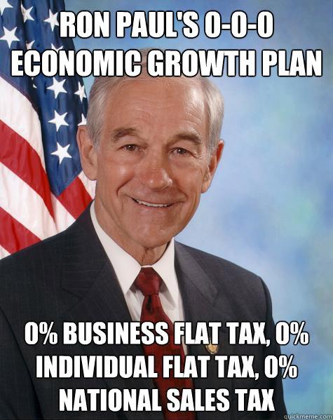 ron paul tax