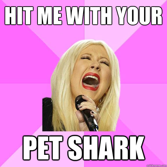 hit me with your pet shark - Wrong Lyrics Christina