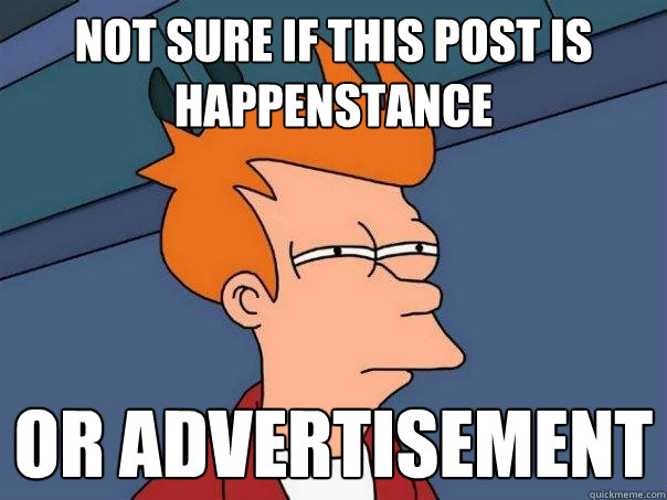 not sure if this post is happenstance or advertisement - Futurama Fry