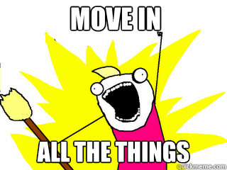 move in all the things - All The Things