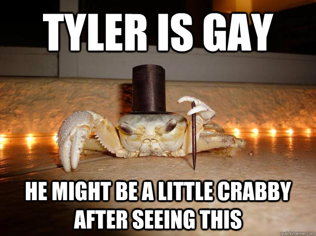from Tucker stephen tyler is he gay