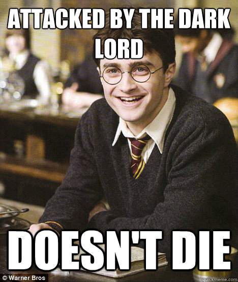 attacked by the dark lord doesnt die - Hogwarts Freshman