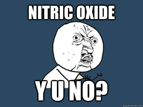 nitric oxide y u no - Y U No