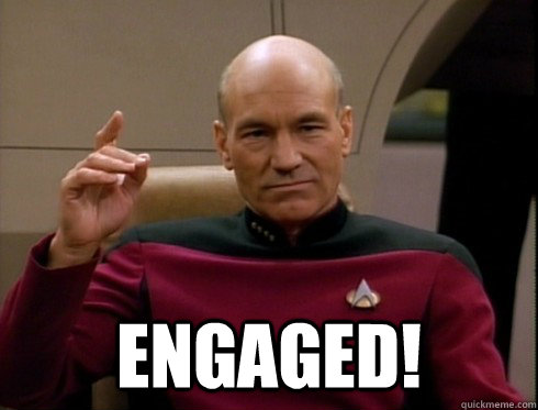 picard engaged