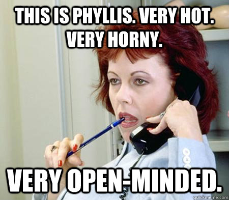 this is phyllis very hot very horny very openminded - Phone Sex Phyllis
