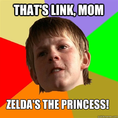 thats link mom zeldas the princess - Angry School Boy