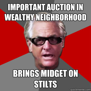 important auction in wealthy neighborhood brings midget on s - Storage Wars