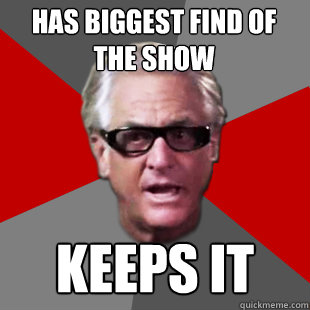 has biggest find of the show keeps it - Storage Wars