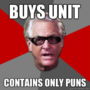 buys unit contains only puns - Storage Wars