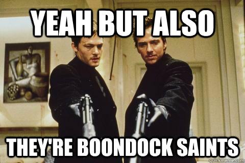 Boondock Saints Cat Meme