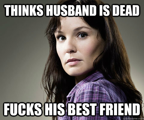 thinks husband is dead fucks his best friend - Stupid Lori