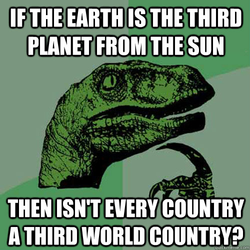 if the earth is the third planet from the sun then isnt eve - Philosoraptor