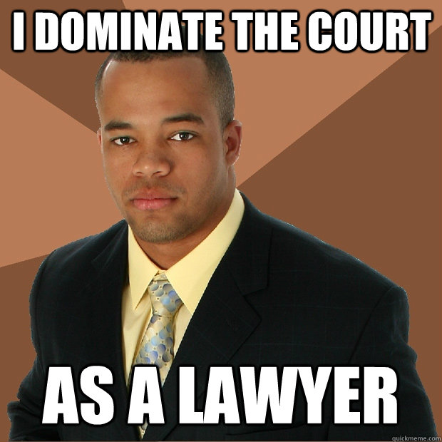Dating a lawyer meme