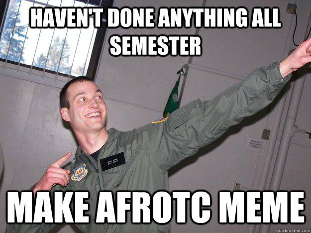 Afrotc cadet dating