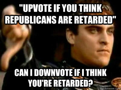 retarded republican
