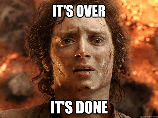 finishing a dissertation