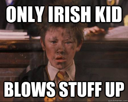 only irish kid blows stuff up - Explodey Seamus
