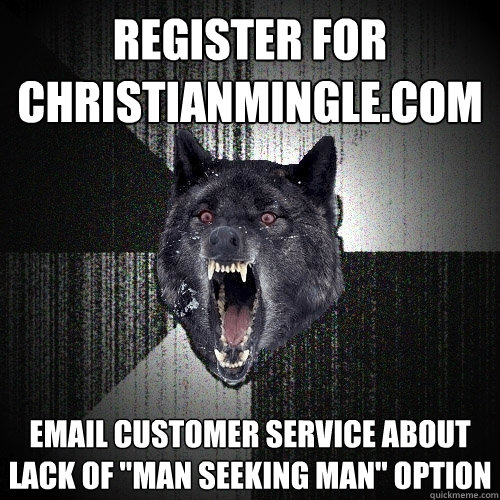 register for christianminglecom email customer service abou - Insanity Wolf