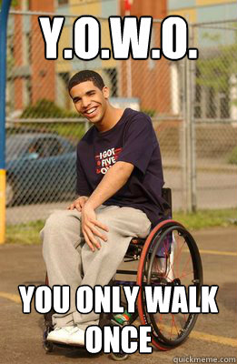 yowo you only walk once - Drake
