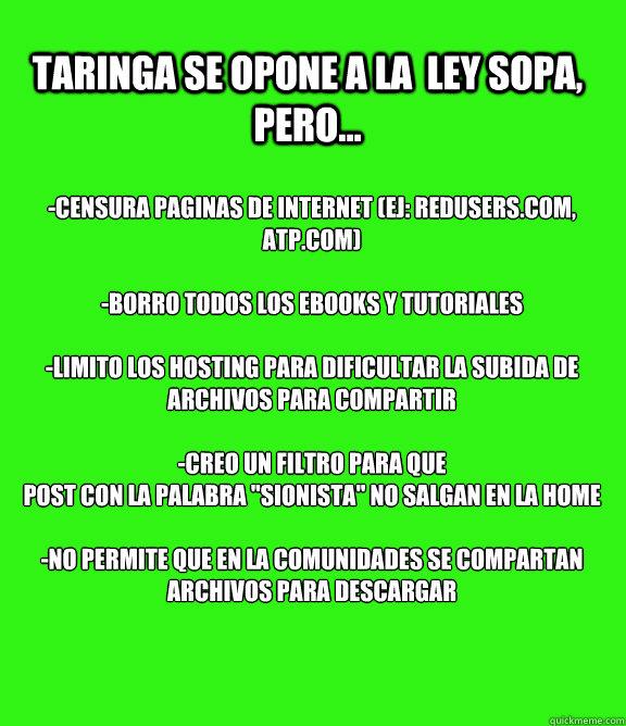 Apagón vs SOPA