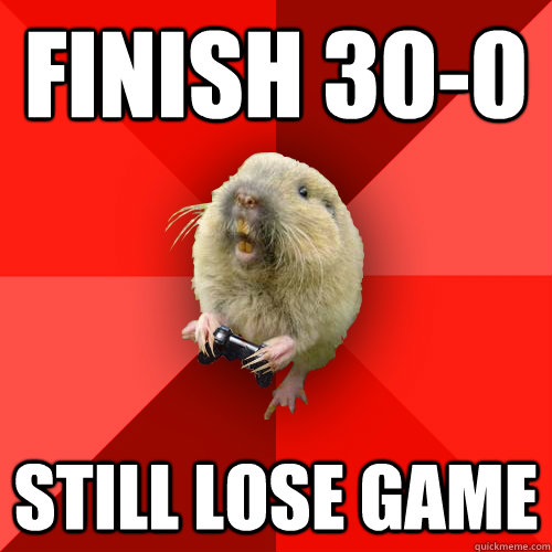 finish 300 still lose game - Gaming Gopher