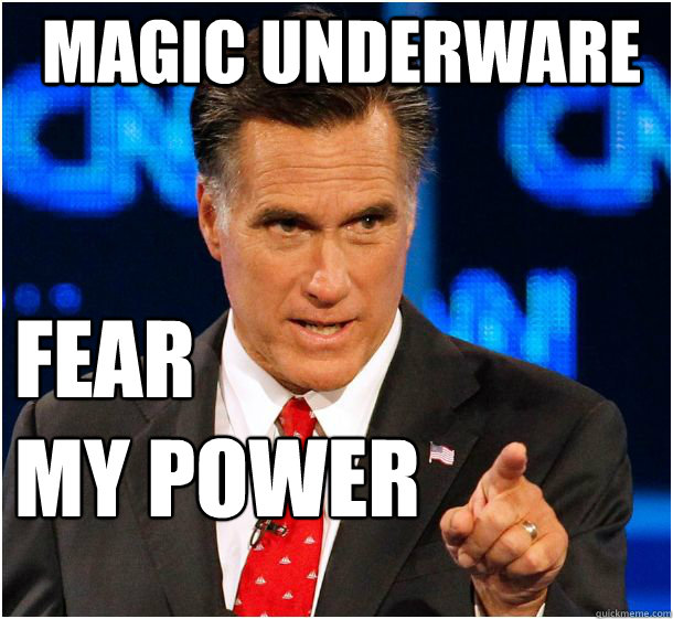 magic underware