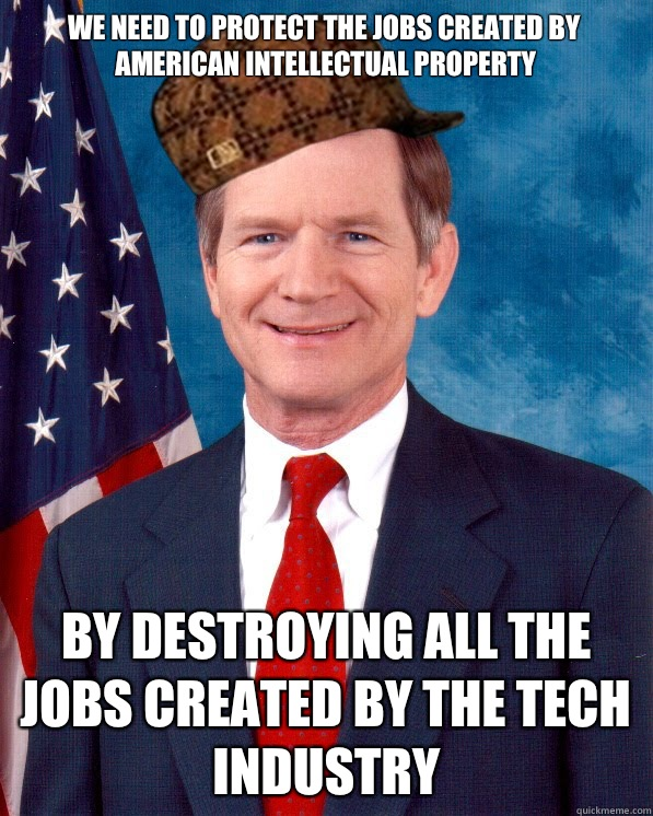 We need tO protect the jobs created by american intellectual - Scumbag Lamar