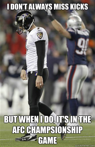 Most interesting kicker