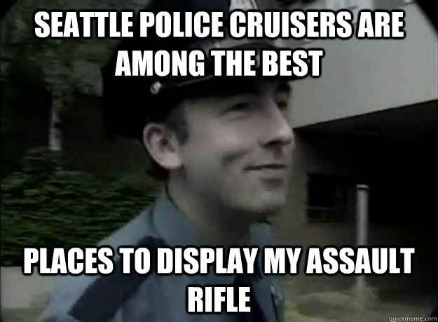 seattle police cruisers are among the best places to display - Seattle Police