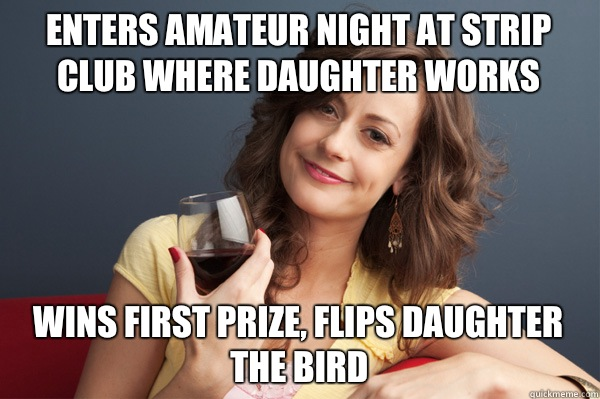 35tiin Enters amateur night at strip club where daughter works Wins   Forever ...