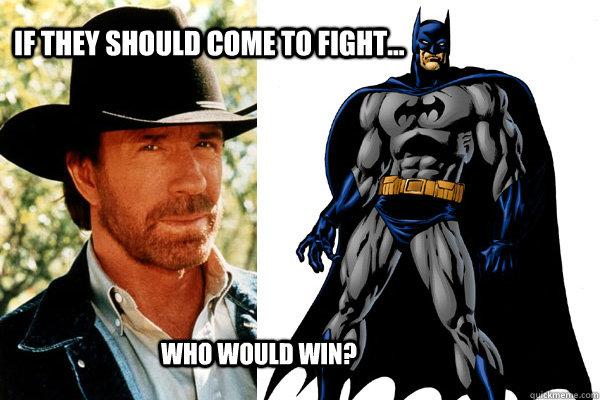 chuck norris and batman