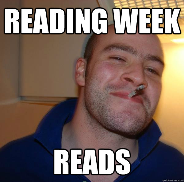reading week reads - Good Guy Greg-