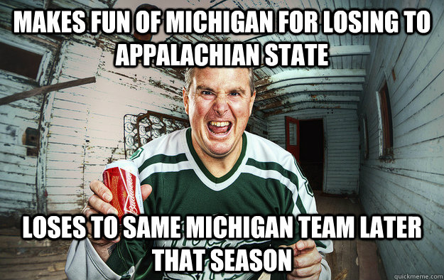 makes fun of michigan for losing to appalachian state loses  - Michigan - Applachian State