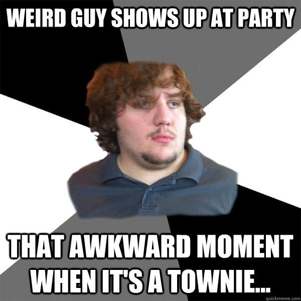 awkward moment weird guy